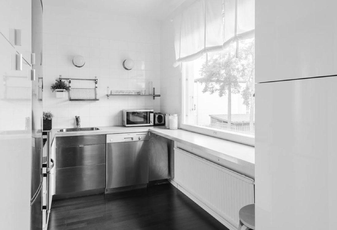 Kerrostalo keittiö Vantaa