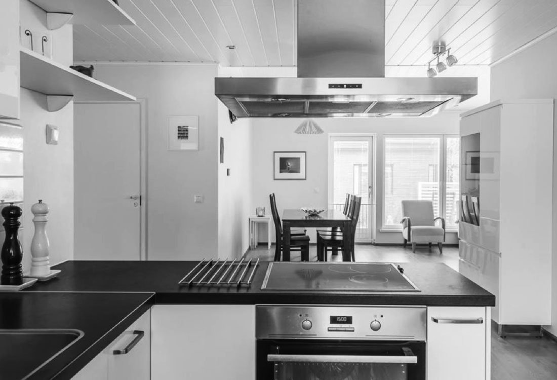 Paritalo keittiö Järvenpää