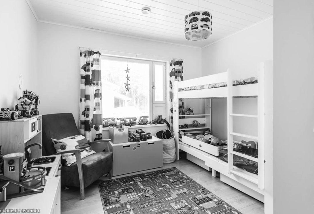 Paritalo lastenhuone Järvenpää